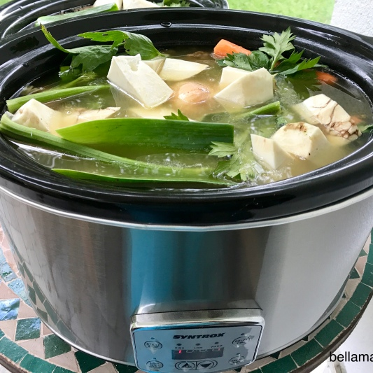 Brühe in SlowCooker