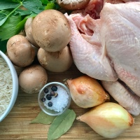 Hühnerfrikassee