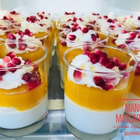 Fruchtige Mango Mascarpone ☀️