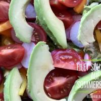 Filet SousVide auf Sommersalat